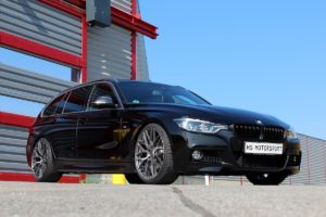 HS Motorsport Elegance Wheels E3 FF Felgen Räder Tuning BMW 3er F31 340i Touring Kombi Mittelklasse Tieferlegung Leistungssteigerung