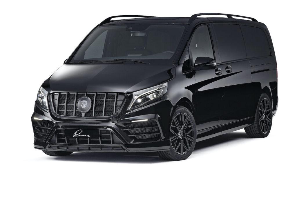 Mercedes-Benz V-Klasse 447 Tuning-Lemma Design CLR V Bodykit Felgen Endschalldämpfer Innenraum-Veredlung