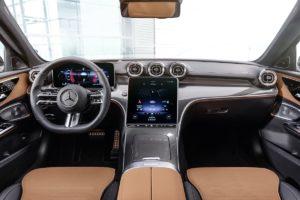 Mittelklasse Neuheit Stuttgarter Bestseller Vorstellung Mercedes C-Klasse Limousine W206 T-Modell S206