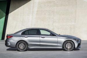 Mittelklasse Neuheit Stuttgarter Bestseller Vorstellung Mercedes C-Klasse Limousine W206