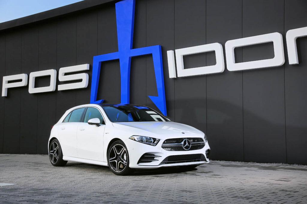 POSAIDON A 35 RS 400: bis zu 400 PS / 550 Nm im Einstiegs-AMG