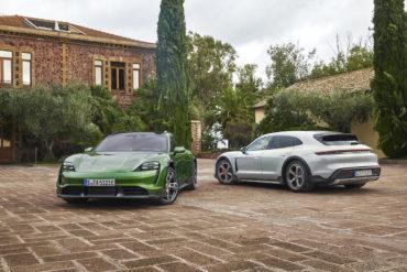 Elektroauto Neuheit Porsche Taycan Cross Turismo