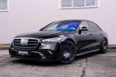 Mercedes-Benz S-Klasse W223 Luxuslimousine Tuning Brabus B50 Leistungssteigerung Karosserie Aerodynamik-Anbauteile Schmiedefelgen Innenraum-Veredlung Leder Carbon