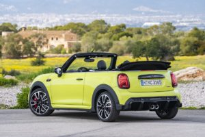 Neuheit Facelift Vorstellung Mini John Cooper Works Cabrio Zesty Yellow