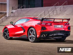 C8 Stingray by NAP: Carbon-Styling und Edelstahl-Abgasanlage für die Mittelmotor-Corvette