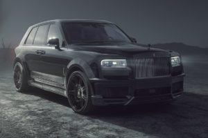 Rolls-Royce Black Badge Cullinan Tuning Spofec SUV-Luxusklasse Bodykit Breitbau Widebody Leistungssteigerung Abgasanlage V12 Zwölfzylinder Tieferlegung Schmiedefelgen Räder Innenraum-Veredlung