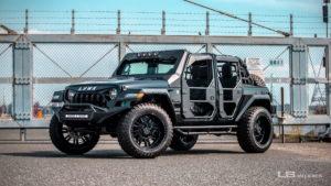 Jeep Wrangler-Umbau von Liberty Walk!
