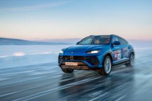 Jetzt offiziell: Lamborghini Urus Eis-Geschwindigkeitsrekord von Andrey Leontyev bestätigt!