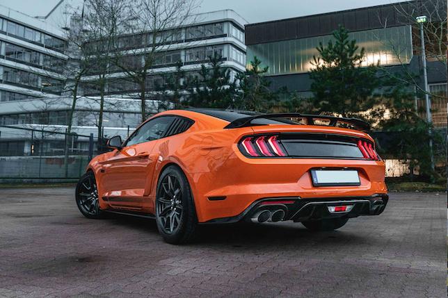 DD Exhaust-Abgasanlagen für den Ford Mustang GT von DD Customs