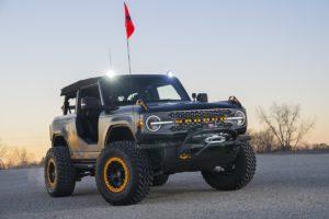 Ford Auto Nights SEMA Show Special 2020 Studie Vorstellung Premiere Ford Bronco Badlands Sasquatch 2 Door Concept Offroader US-Car 4x4 Neuheit