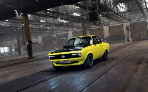 Geile Idee: Opel Manta GSe ElektroMOD