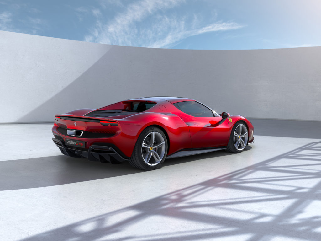 296 GTB, der neue Berlinetta-Sportwagen mit Mittelmotor von Ferrari
