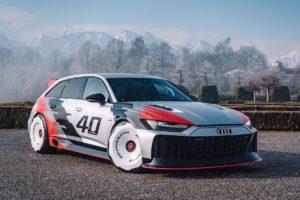 40 Jahre quattro Studie Unikat Einzelstück Audi RS 6 GTO concept Auszubildenden-Projekt Neckarsulm IMSA V8 Achtzylinder Topmodell Kombi Avant