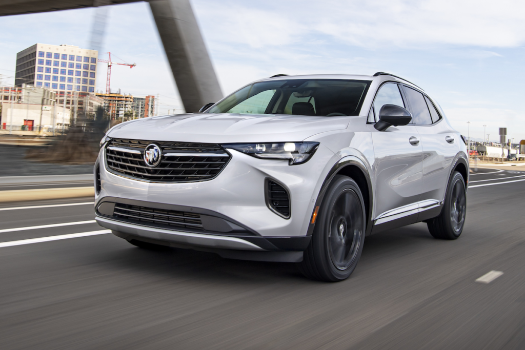 US-Car SUV Neuheit Buick Envision 2021