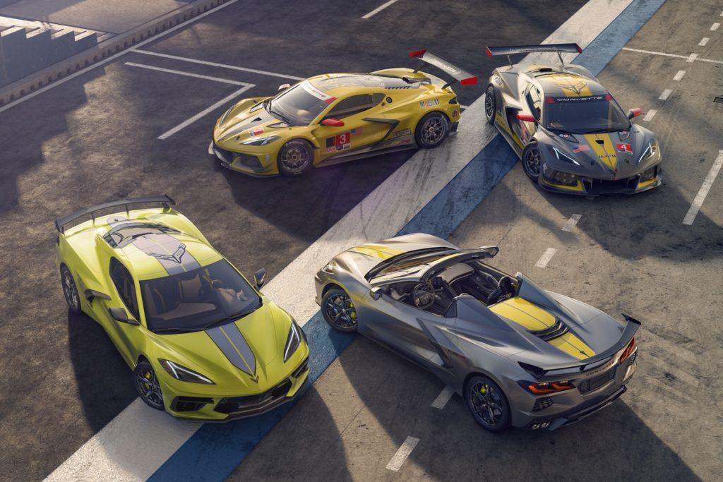 Neheit limitiertes Sondermodell US Car-Mittelmotoir-Sportwagen Cgevrolet Corvette Stingray IMSA GTLM Championship Edition