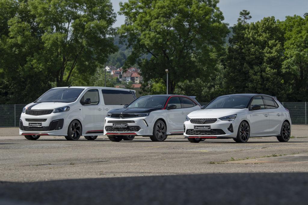 Opel Corsa Mokka Zafira Tuning Irmscher Weiße Flotte Neuauflage Leistungssteigerung Bodykit Felgen