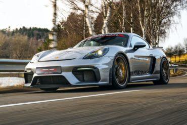 Tuning Optimierung Tracktool Manthey-Racing Porsche 718 Carman GT4 MR Mittelmotor Sportwagen Coupé