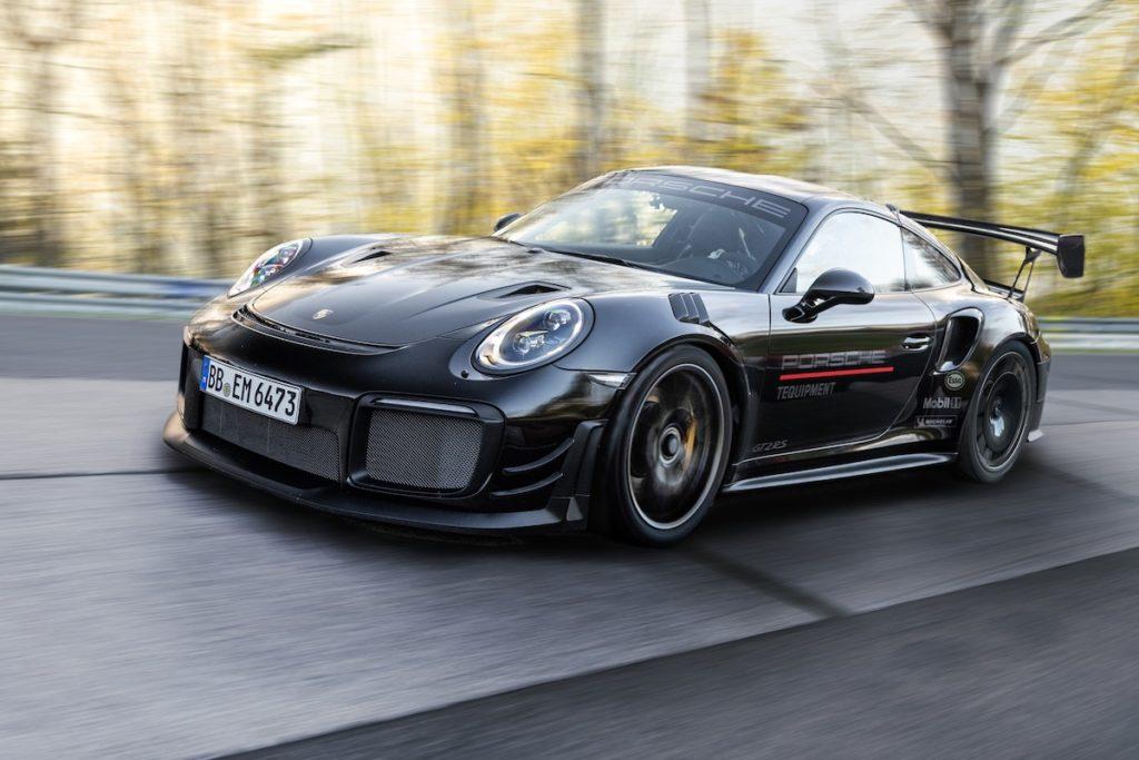 Nürburgring Nordschleife Porsche 911 GT2 RS Manthey Performance-kit Rundenrekord Bestmarke Sportwagen