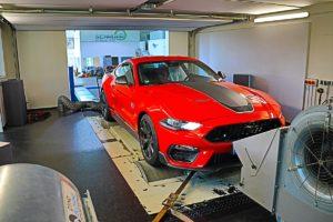 Ford Mustang Mach 1 Neuheit Optimierung Schrapp Tuning Fahrwerk Motor V8 Leistungssteigerung Kompressor