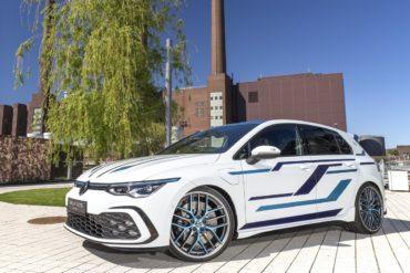 Wolfsbrg Auszubildenden-Projektfahrzeug Wörthersee VW Golf 8 GTE Skylight Kompaktklasse-Sportler Plug-in-Hybrid