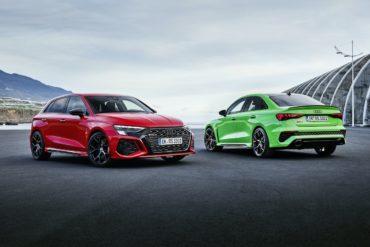 Audi Sport GmbH Kompaktklasse-Topmodell RS 3 Sportback Hot Hatch RS 3 Limousine Neuheit