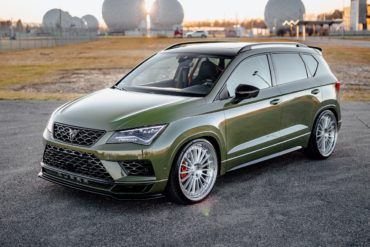 Tuning Tieferlegung Rieger Bodykit Cupra Ateca Sport-SUV Topmodell