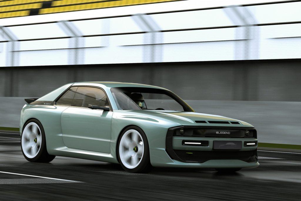 Retro-Neiheit Elektro-Sopersportwagen ELEGEND EL1 Coupé Audi Sport quattro Vorschau