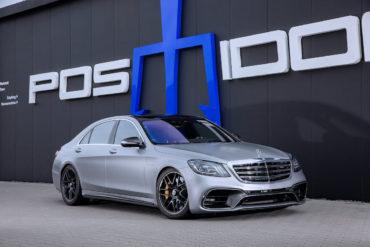 Mercedes-AMG S 63 4MATIC+ lang Tuning Leistungssteigerung POSAIDON S 63 RS 830+ Tieferlegung