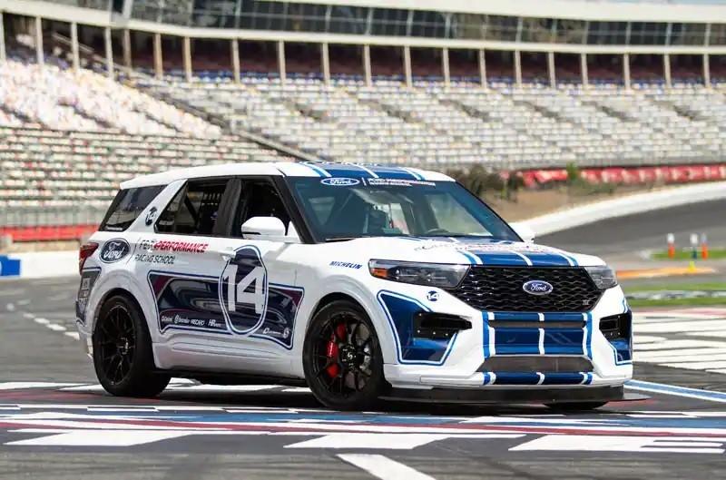 Ford Explorer ST zum 400 PS starken Tracktool umgebaut!