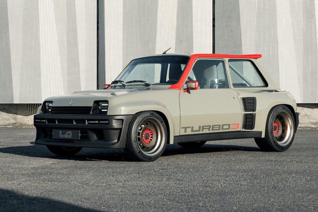 Restomod Renault 5 Turbo 3 Legende Automobiles R5 Hot Hatch Klassiker