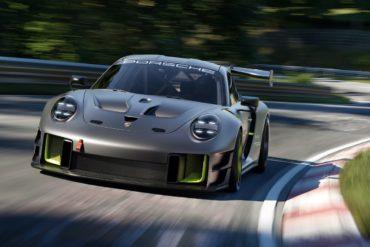 Mathey Racing Jubiläum 25 Jahre limitiertes Sondermodell Porsche 911 GT2 RS Clubsport 25 Rennwagen