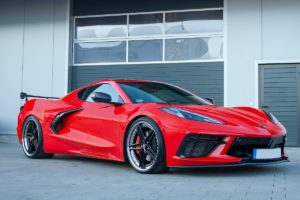 Chevrolet Corvette C8 Stingray Felgen Schmidt Revolution FS-Line Dreiteiler Tuning Mittelmotor-Sportwagen Targa Coupé BestofWheels