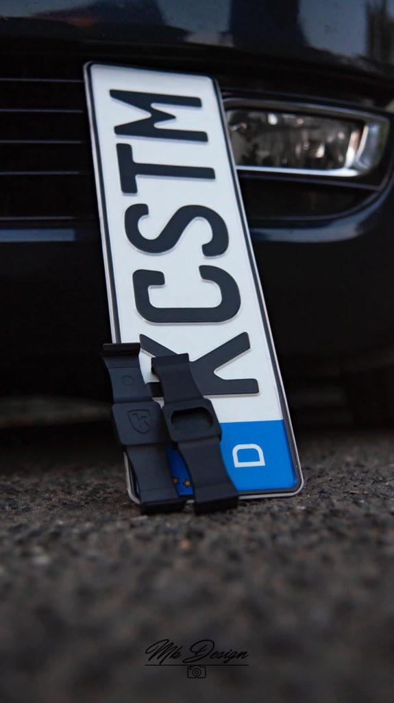 K-custom Kennzeichenhalter