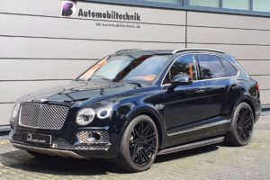 B&B Automobiltechnik Bentley Bentayga Tuning Leistungssteigerung Fahrwerk Tieferlegung Felgen Räder Luxus-SUV