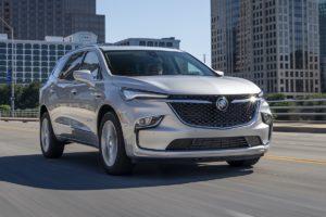 US-Car Neuheit Buick Enclave Facelift Überarbeitung Siebensitzer SUV V6 Benziner Sechszylinder