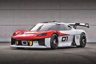 IAA Mobility 2021 Racing Motorsport Cup Rennwagen E-Auto elektrisch Porsche Mission R Coupé