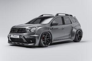 Prior Design Dacia Duster SUV Tuning Widebody-Kit Breitbau Felgen Tieferlegung