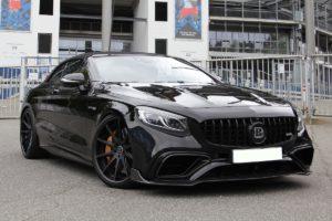 Mercedes-AMG S 63 4MATIC+ Cabriolet A217 SR Tuning Leistungssteigerung Bodykit Felgen Tieferlegung Biturbo V8 Achtzylinder