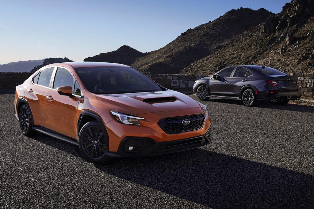 Neuheit Vorstellung Sportlimousine Allradantrieb Boxermotor Subaru WRX USA