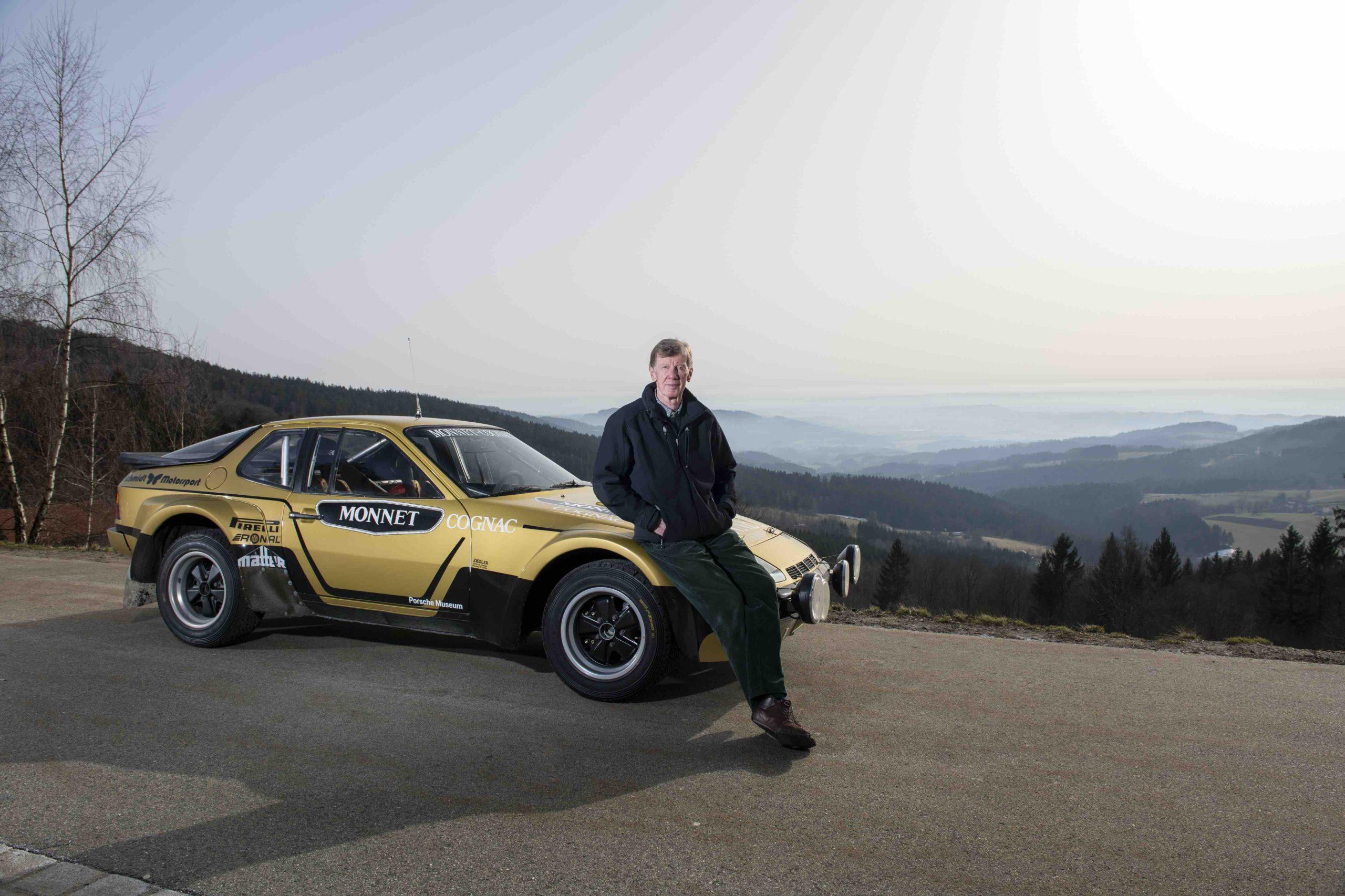 Motorsport, Walter Röhrl und der Porsche 924 Carrera GTS Rallye