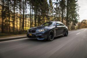 BMW M2 F87 Topmodell Sportcoupé Tuning ST suspensions Gewindefahrwerk ST XTA plus 3 fahrwerkebilliger.de
