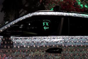 1016 Industries Harrison Woodruff Lamborghini Urus Geschenkpapier Weihnachten Baum Beleuchtung USA Hochleistungs-SUV Sportwagen