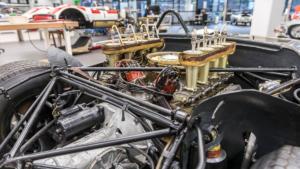Konservierung Porsche 910/8 Bergspyder
