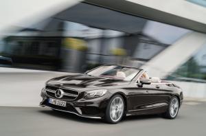 Mercedes S63 & S65 Cabrio und Coupé IAA Frankfurt