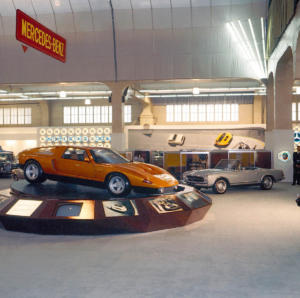 Mercedes-Benz C 111-II: Premiere vor 50 Jahren auf Genfer Automobilsalon 1970
