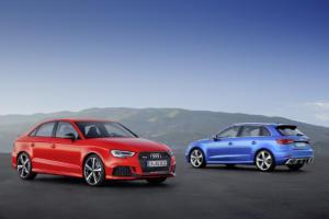 25 Jahre Audi RS Jubiläum RS 3 Limousine und Sportback