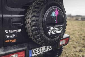 """Suzuki Jimny """"HelloBBM 80ies"""" von BBM Motorsport"""