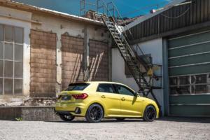 Abt Audi A1 Tuning Leistungssteigerung Fahrwerk Tieferlegung Felgen Abt Sport GR