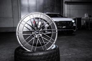 Abt Sport HR Felge Neuheit Aero-Ring Audi Q8 Tuning Bodykit