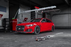 Ab RS4+ limitiert Sportkombi Tuning Leistungssteigerung Bodykit Felgen Fahrwerk